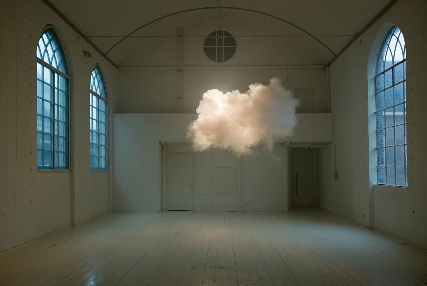 Nimbus II, 2012 cloud in room Lambda print, 75x112 cm