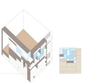 Cabane (dans le salon) in progress... Réalisation et conception : Robin Maury Idée et conception : Sophie Blum et Reynald Drouhin